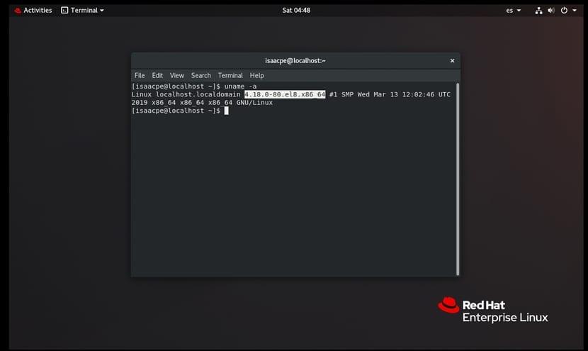 kernel version