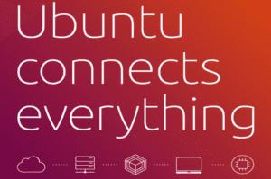 Cabecera de la infografía de Ubuntu conectarse a todo