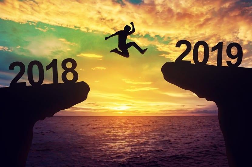 salto de 2018 a 2019