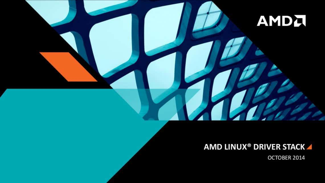 AMD Linux DRivers