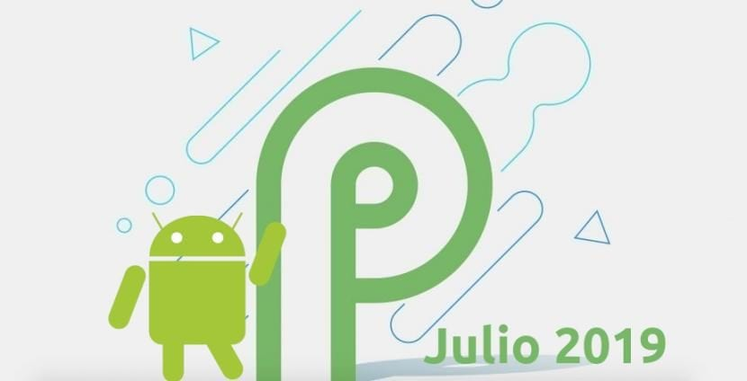 Android P Julio de 2019