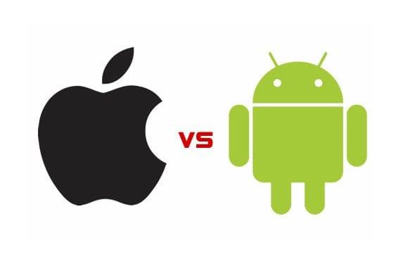 Manzana vs Androide