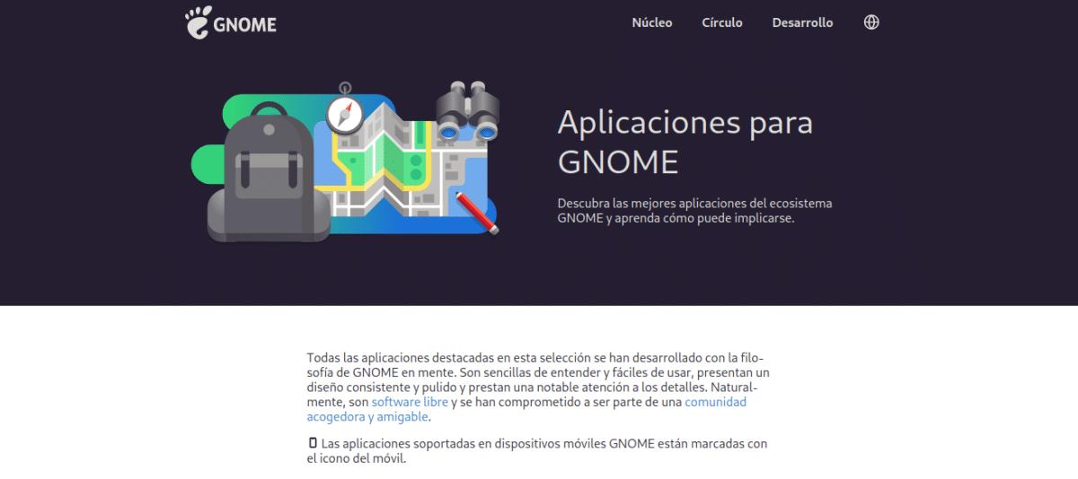 Aplicaciones para GNOME
