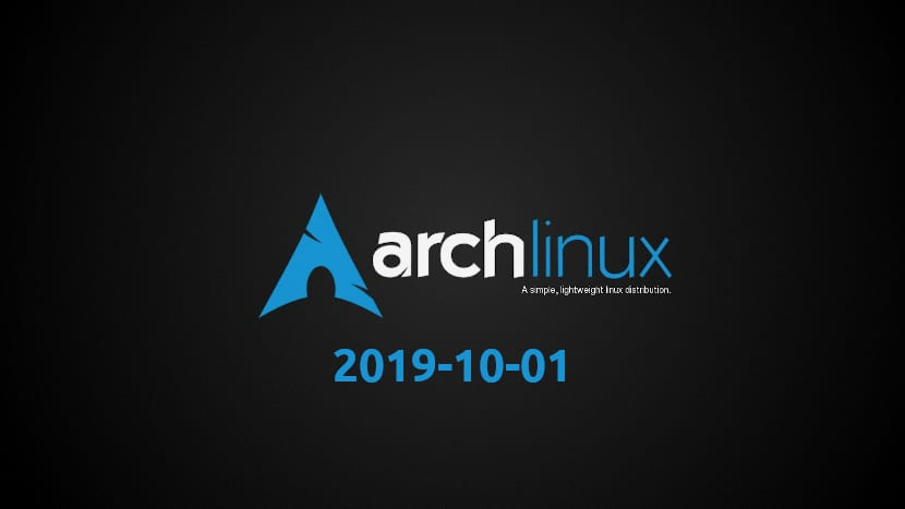 Arch Linux 2019-10-01
