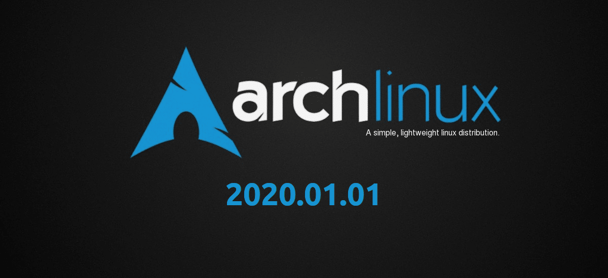 Arch Linux 2020.01.01