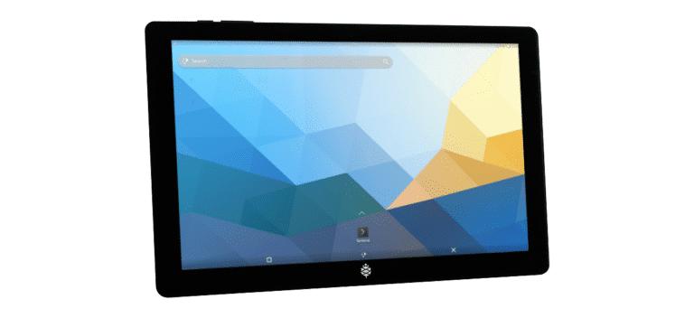 Arch Linux con Plasma Mobile en la PineTab
