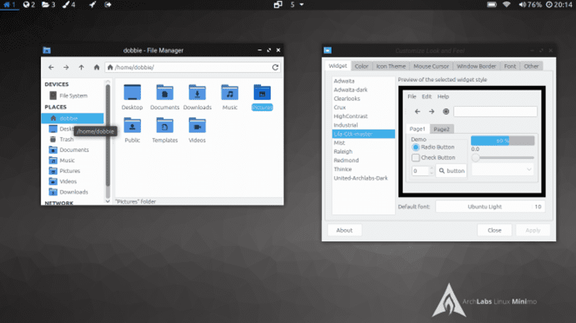 ArchLabs Linux Minimo