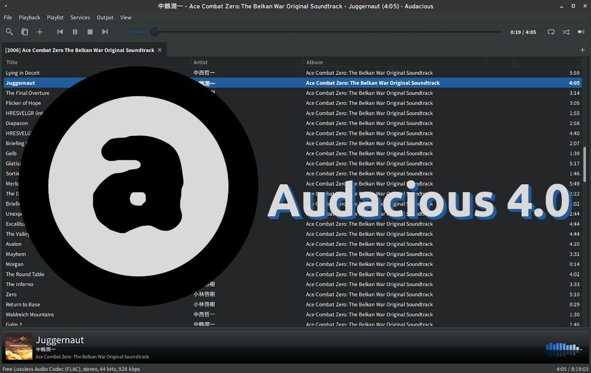 Audacious 4.0