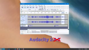 Audacity-2.4.0 no disponible