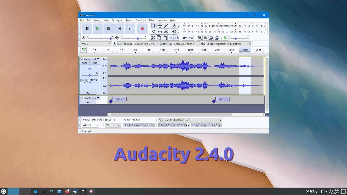 Audacity 2.4.0