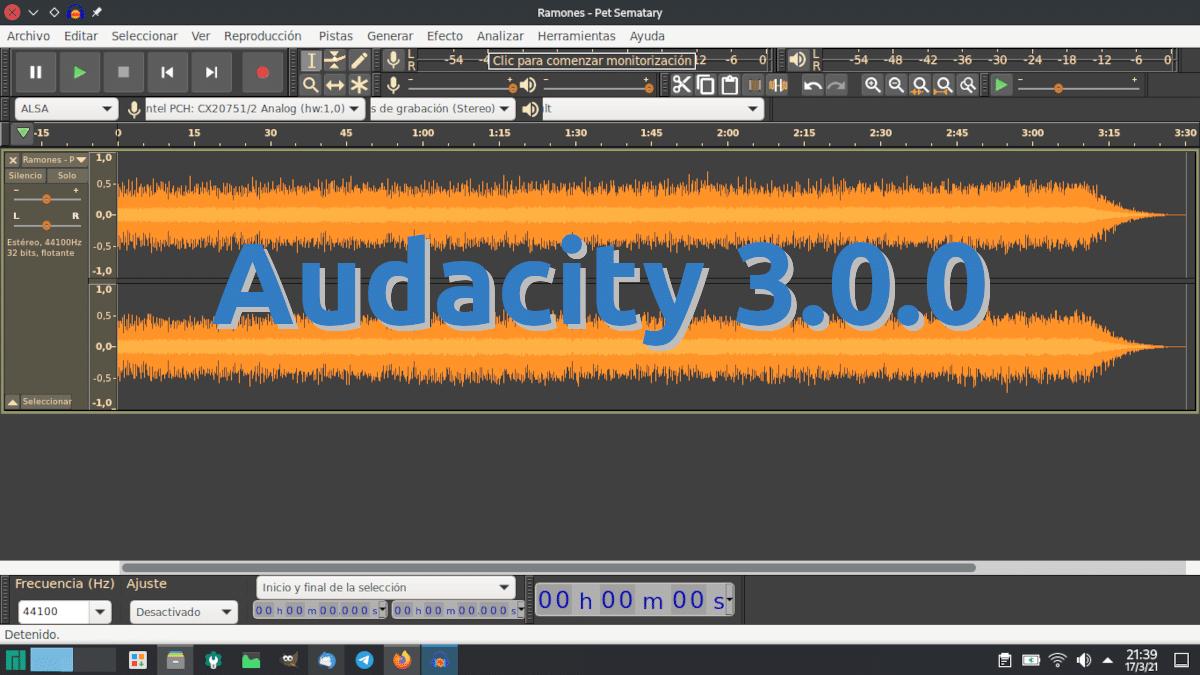 Audacity 3.0.0