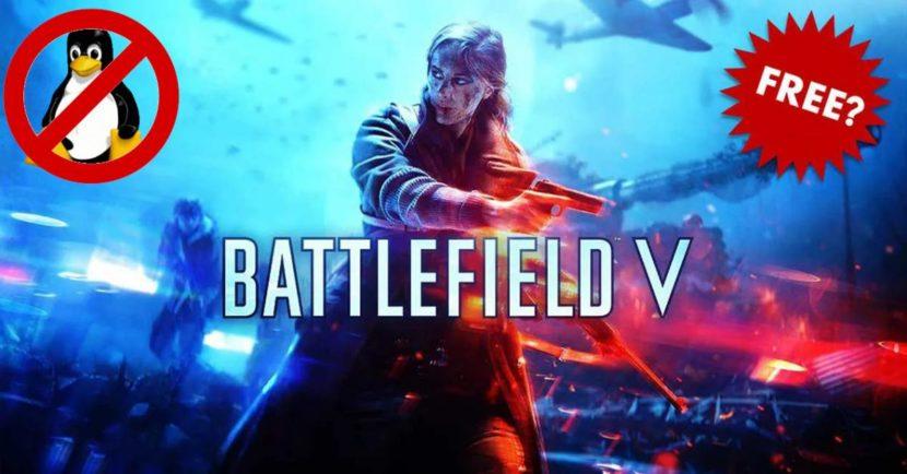 Battlefield V no se puede jugar en Linux