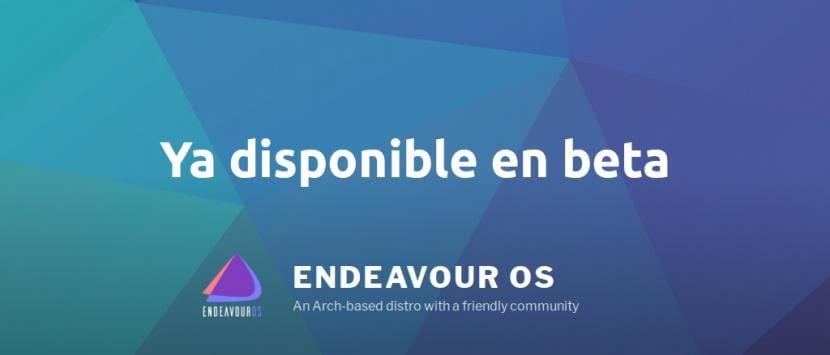 Beta de Endeavour OS