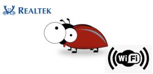Bug en WiFi y Realtek