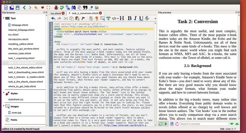 Calibre-E-Book-Editor-Linux
