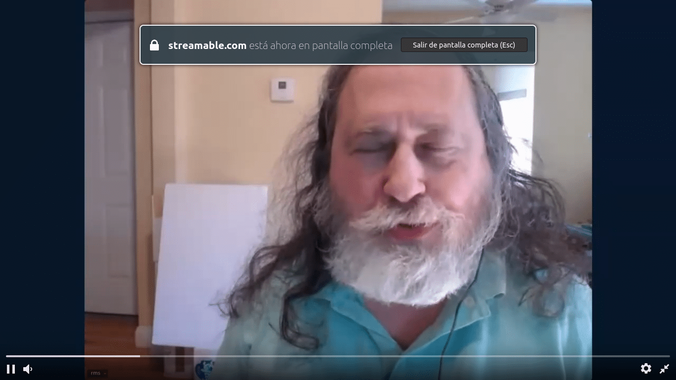 La vuelta de Stallman