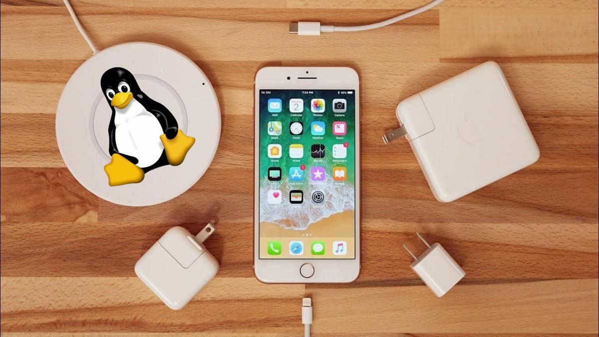 Carga rápida del iPhone en Linux