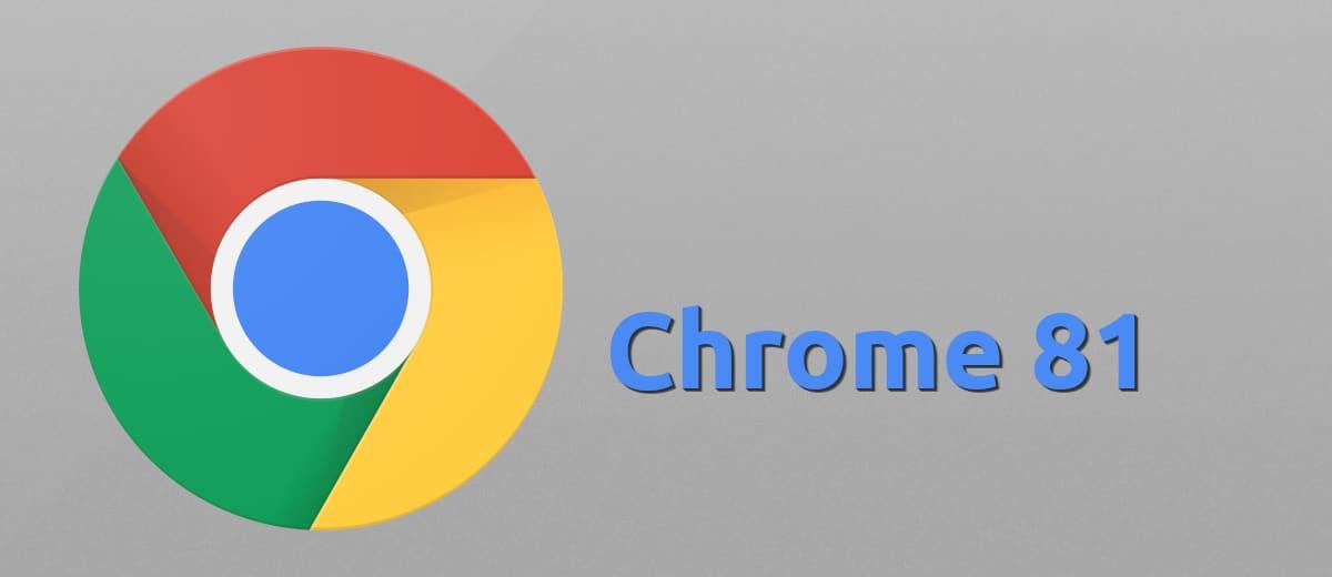 Chrome 81