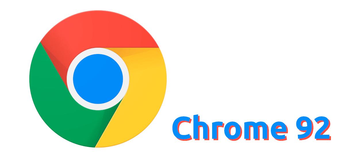 Chrome 92