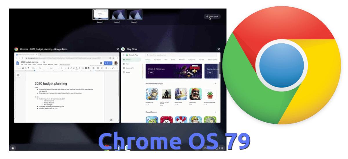 Chrome OS 79