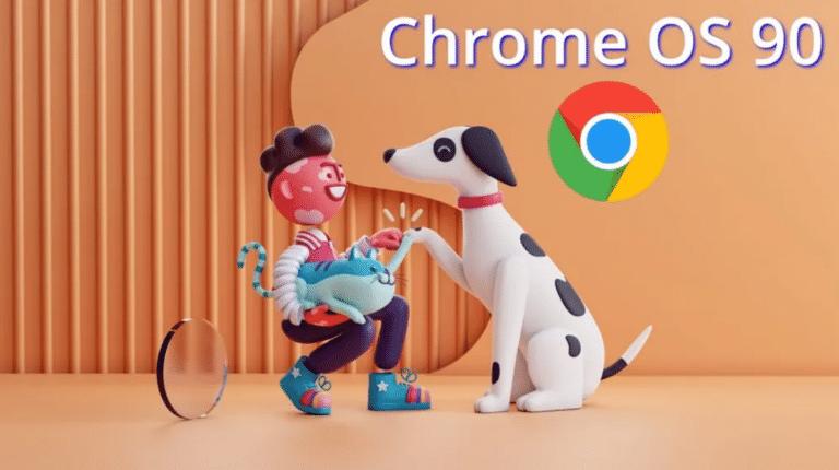 Chrome OS 90