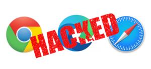 Chrome, Safari y Edge hackeados