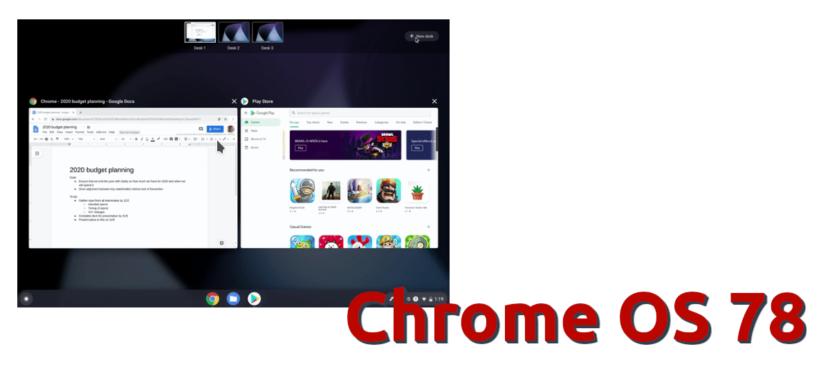Chrome OS 78
