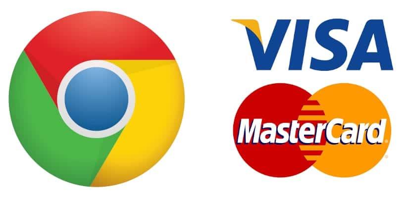 Chrome y tarjetas de credito