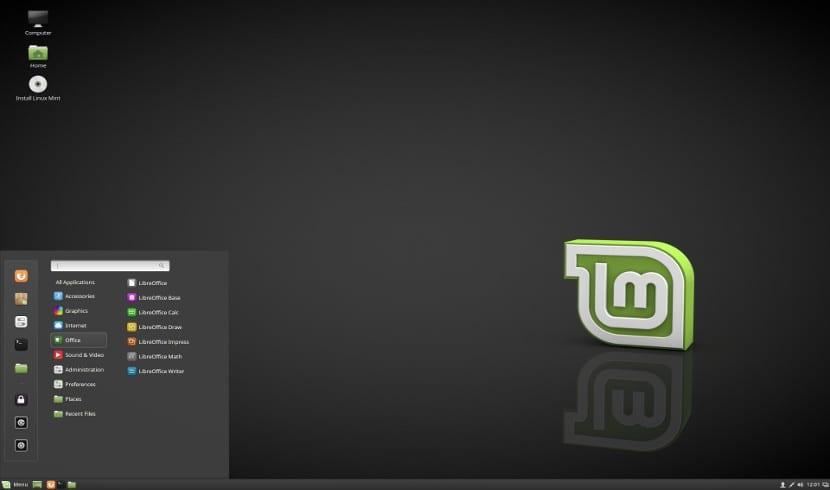Captura de pantalla de CInnamon 3.4