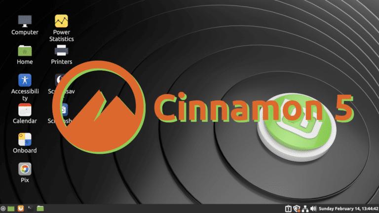 Cinnamon 5 en Linux Mint