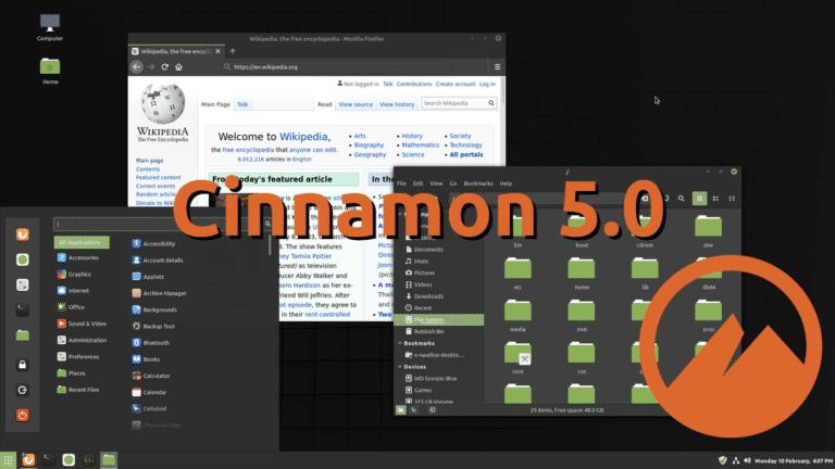 Cinnamon 5.0