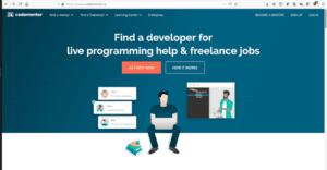 Página web de Codementor