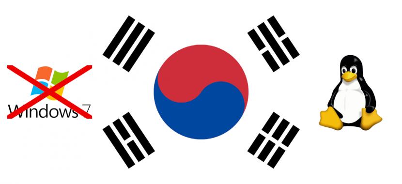 Corea del sur abandona Windows y se pasa a Linux
