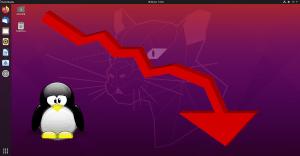 Cuota de mercado de Linux vuelve a caer