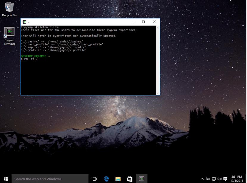 Cygwin 3.0