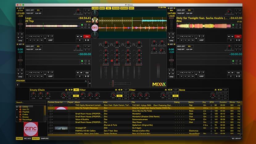 DJ mixxx