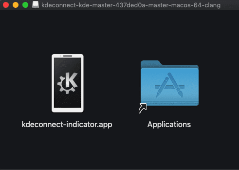 DMG de KDE Connect