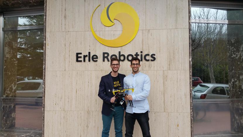 David y VIctor de Erle Robotics