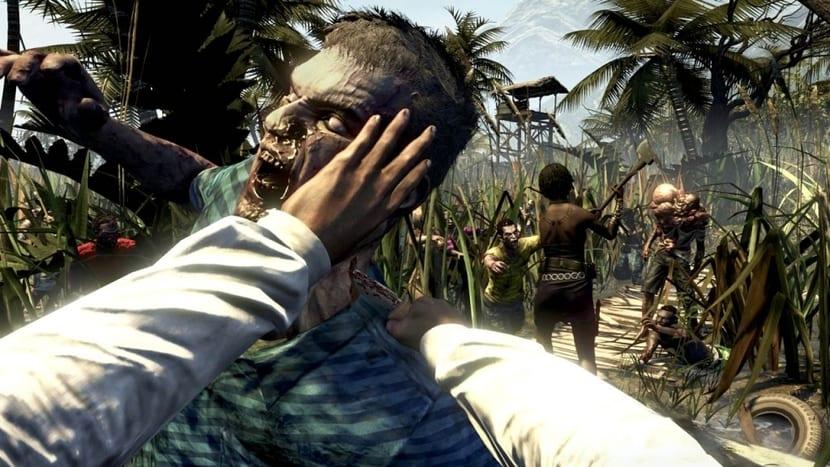 Dead Island: manos matando a un Zombie