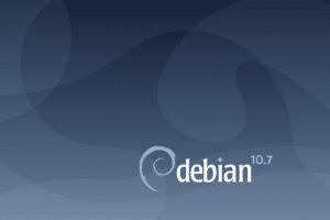 Debian 10.7