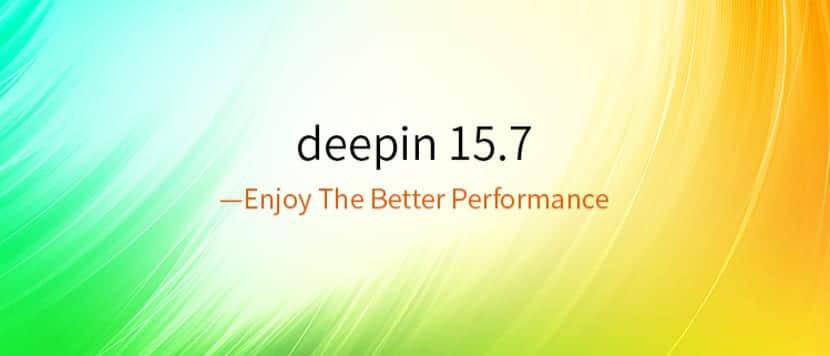 Deepin 15.7