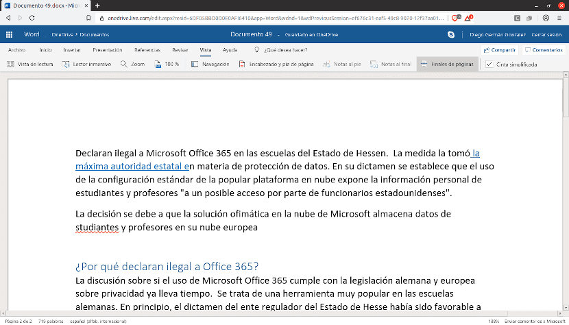 Declaran ilegal a Office 365