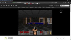 Doom entre los miles de juegos disponibles en archive.org