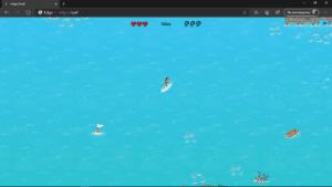 Edge Chromium, juego de surf