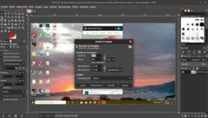 Captura de pantalla de El GImp.
