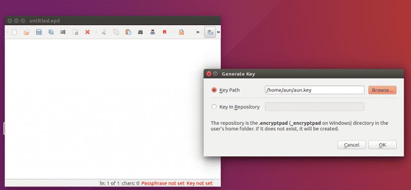 EncryptPad 1