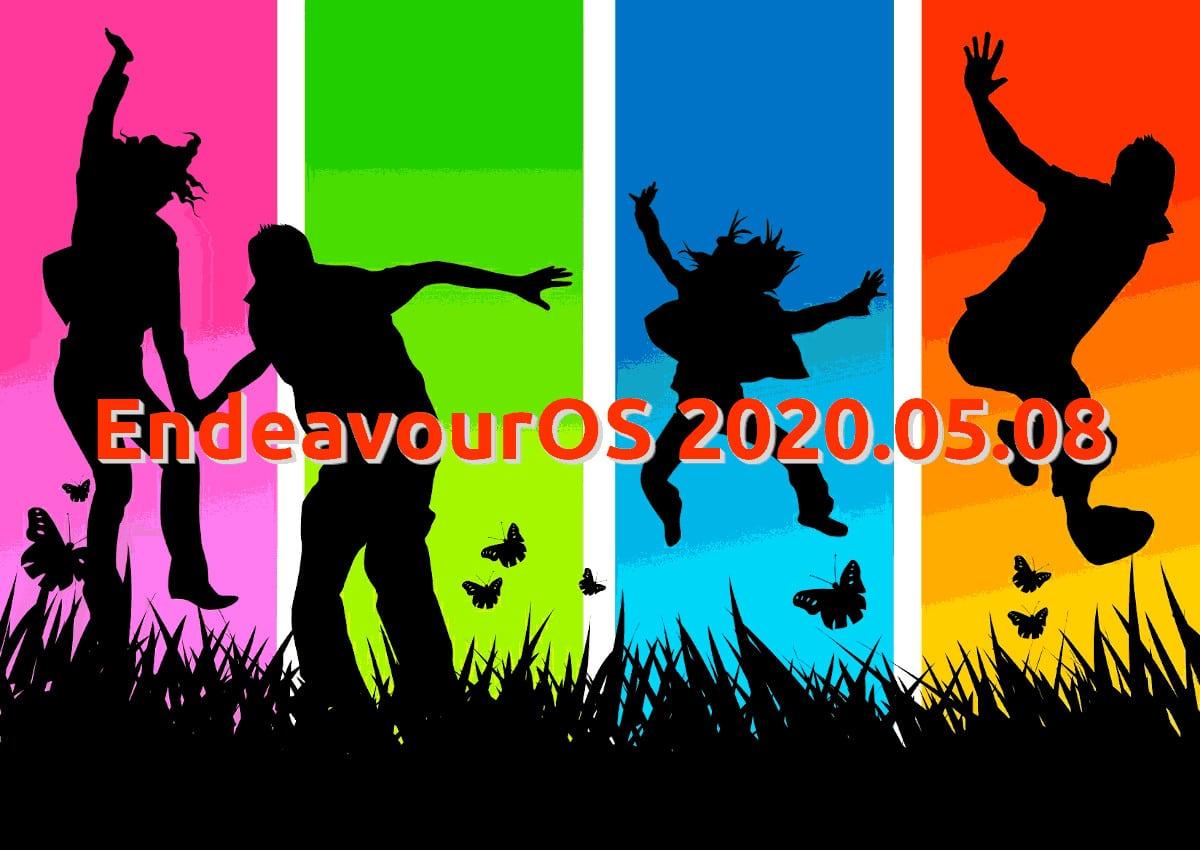 EndeavourOS 2020.05.08