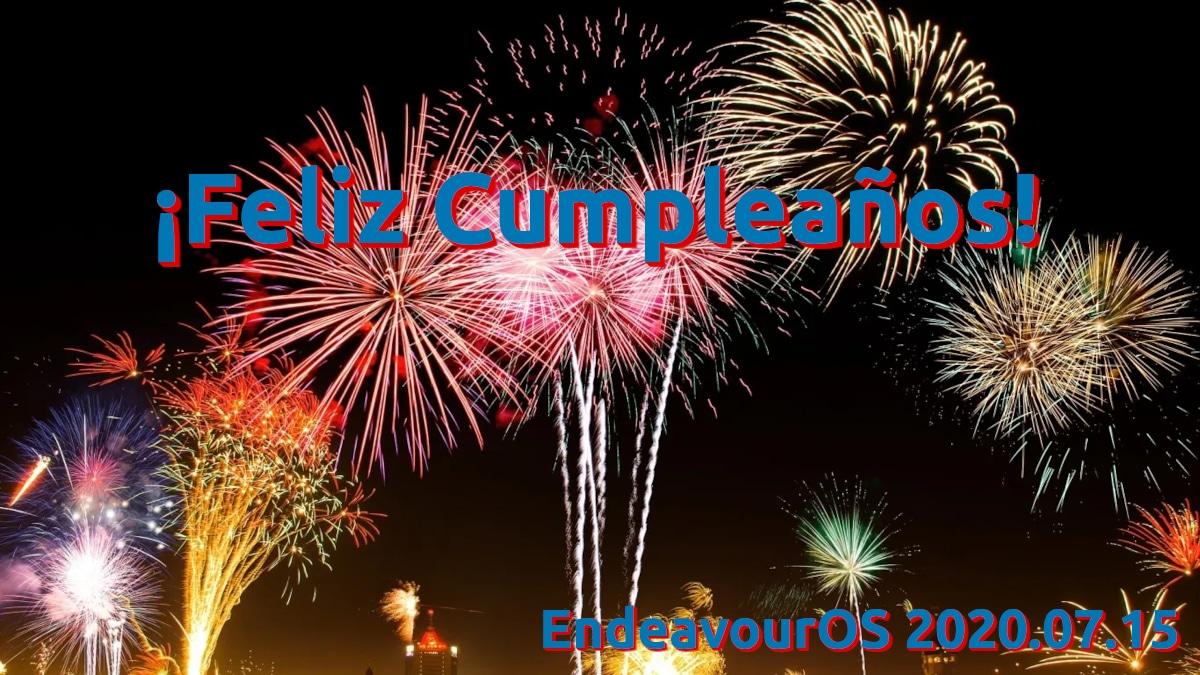 EndeavourOS 2020.07.15