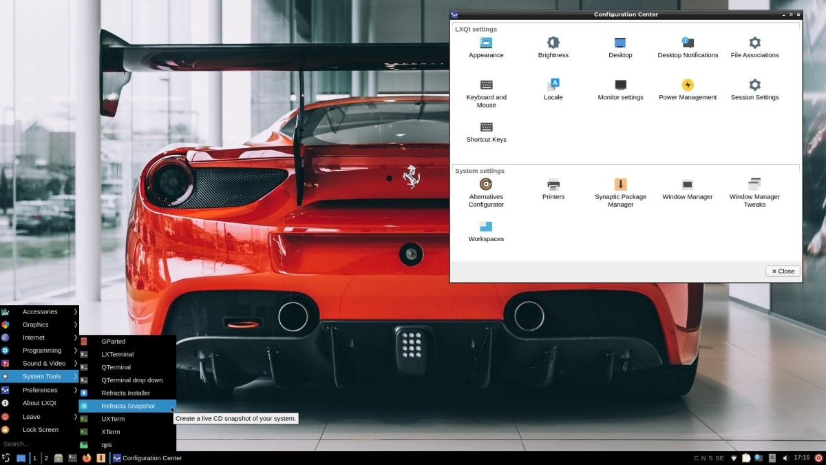 ExTiX 20.04 Mini Linux Distro