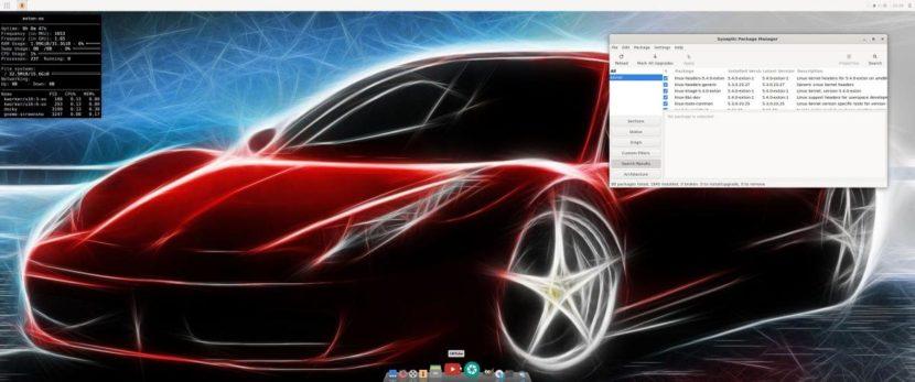 Exton OS con Linux 5.4
